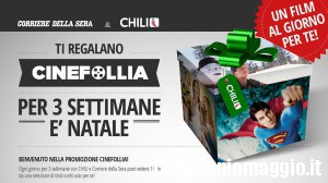 Chili TV: tre settimane di film gratis