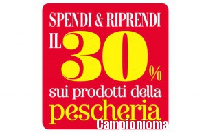 Carrefour: spendi&riprendi in pescheria