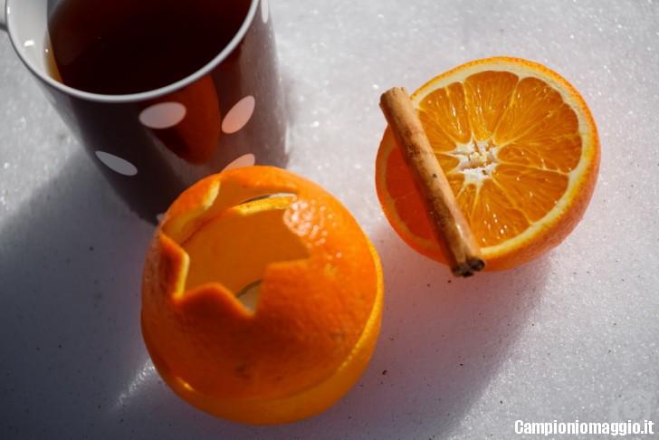 candele arancio