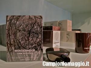 Campioni omaggio dei profumi WonderWood Comme des Garcon