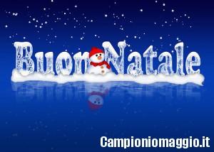Buon Natale da Campioniomaggio.it!