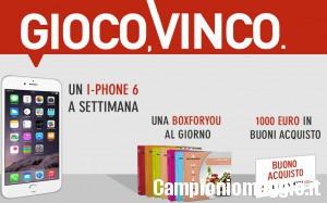Concorso Mondadori: in palio buoni acquisto, BoxforYou e I-Phone6