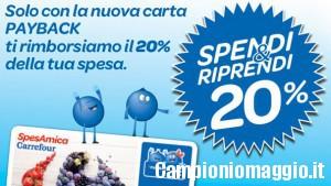 Spendi&Riprendi da Carrefour Express dal 26 al 28 gennaio