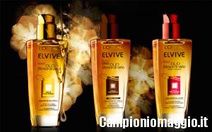 Campione omaggio di Elvive Olio Straordinario da Acqua&Sapone