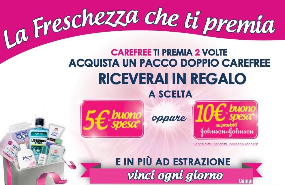 Buoni spesa omaggio con carefree for Buoni omaggio