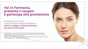 Donna moderna: 40 kit Physiogel in palio + coupon