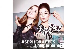 Milano, Napoli, Bari: mascara omaggio da Sephora