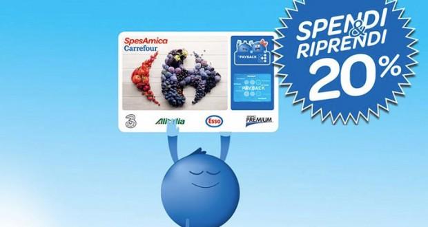 Spendi&riprendi il 20% da Carrefour Express
