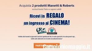 Ingresso al cinema omaggio con Manetti&Roberts