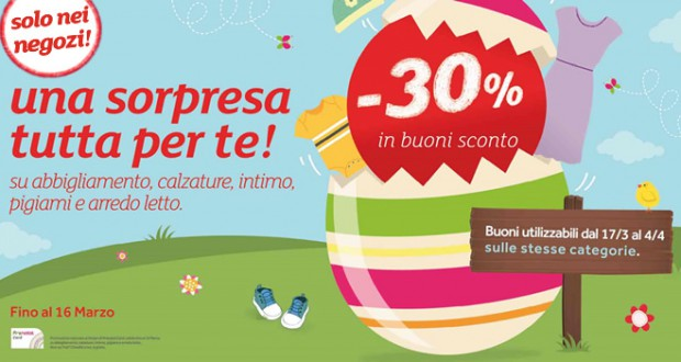 Prenatal: spendi&riprendi il 30% in coupon