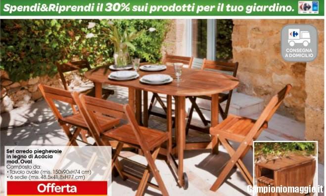 Carrefour spendi riprendi sui prodotti per il giardino for Arredo giardino carrefour