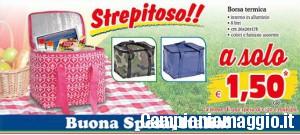 MD discount: borsa termica a 1,50 euro