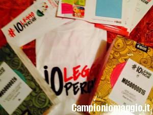 #ioleggoperchè: in arrivo i libri omaggio per i messaggeri