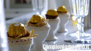 Omaggio per la tua tavola da Ferrero Rocher