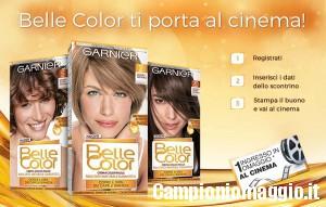 Ingresso cinema omaggio con Belle Color