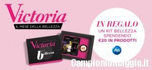 Victoria50: Kit Bellezza omaggio
