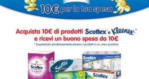 10 euro per la tua spesa da Scottex!