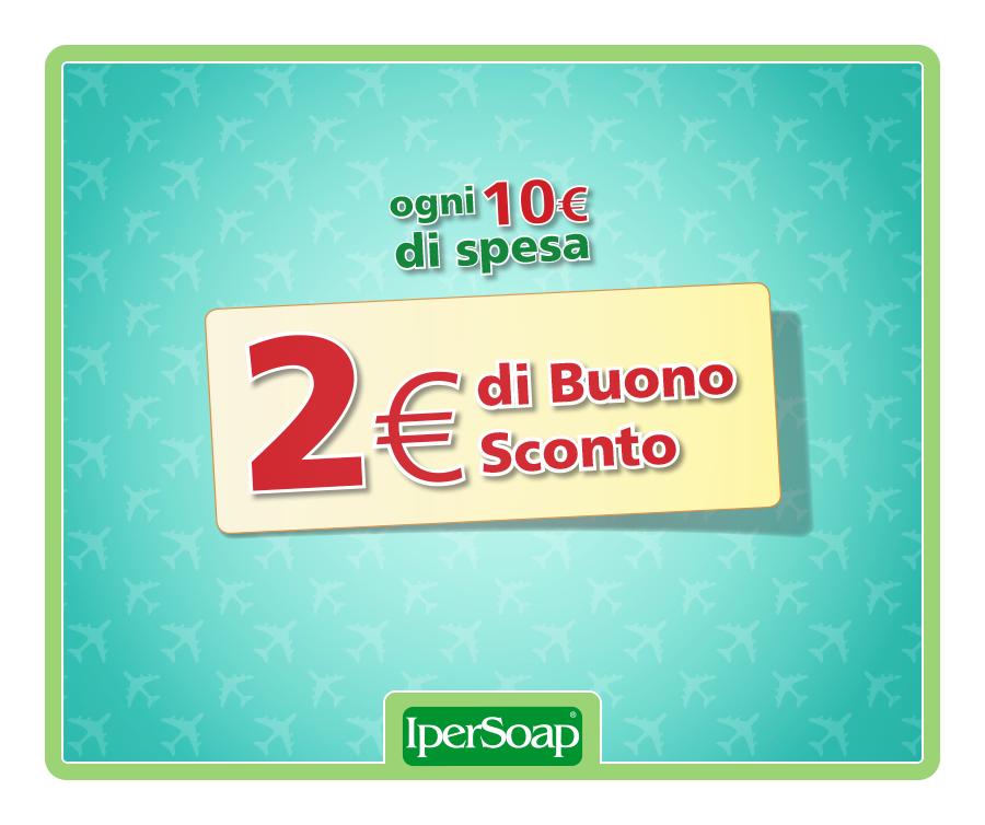 tornasconto ipersoap ogni 10 euro spesi