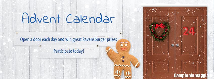 Calendario Avvento Ravensburger.Calendario Dell Avvento Ravensburger Vinci Giochi In