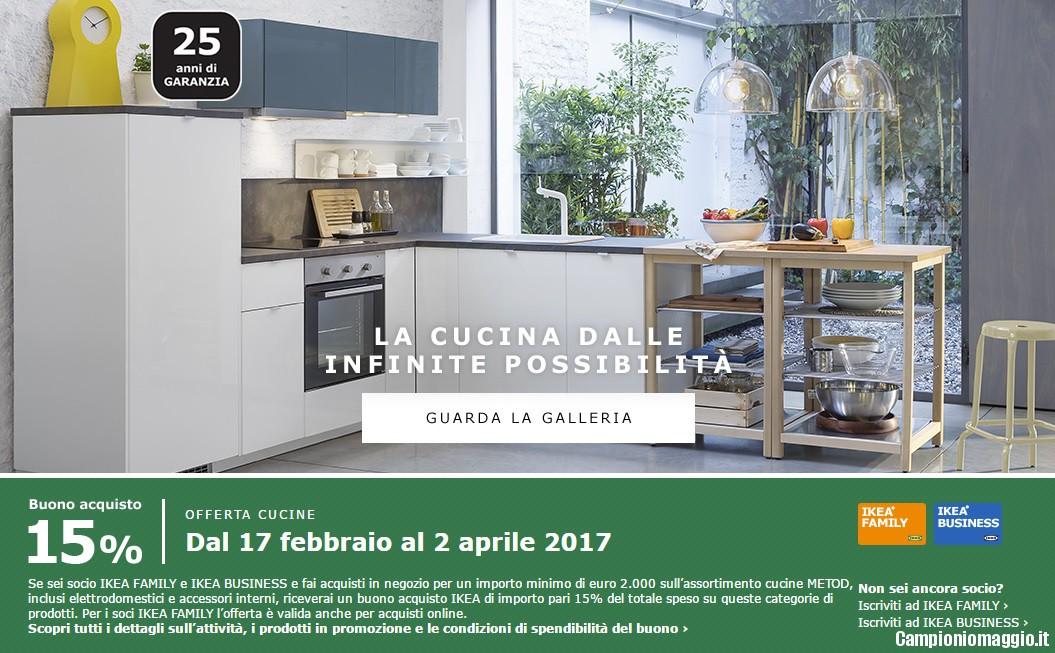 Buono acquisto IKEA del 15% sulle cucine | CampioniOmaggio ...