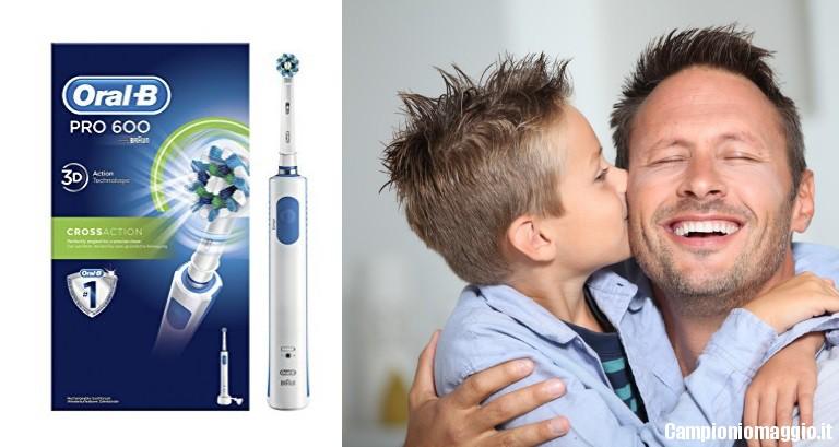 Buono sconto spazzolino elettrico oral b