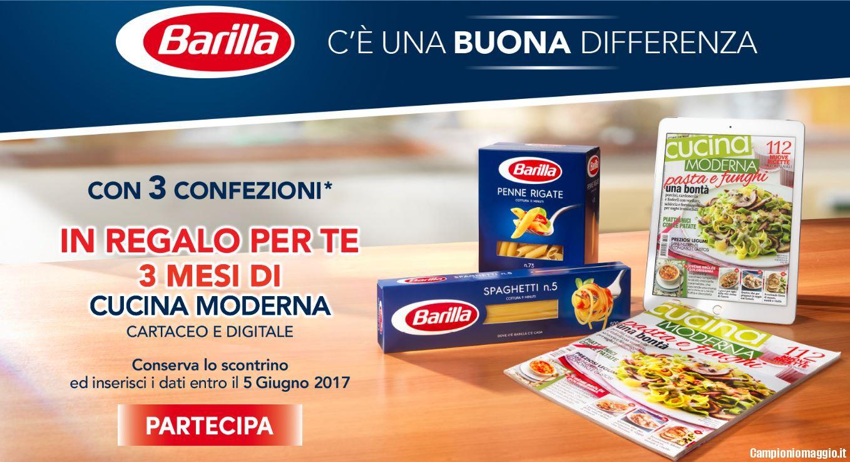 Con Pasta Barilla in omaggio Cucina Moderna | Campioniomaggio.it