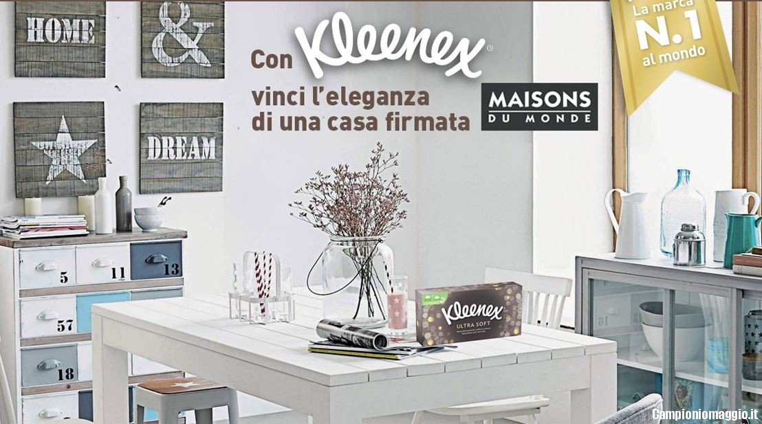 con kleenex vinci carte regalo maison du monde. Black Bedroom Furniture Sets. Home Design Ideas