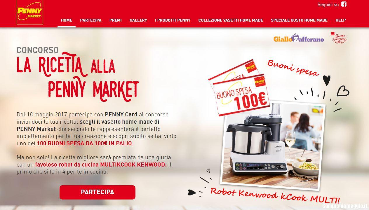 Vinci buoni spesa e robot da cucina con Penny Market ...