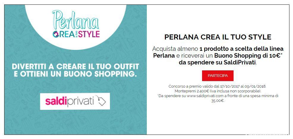 quality design bda0c ad16c Perlana ti regala un Buono Shopping SaldiPrivati ...
