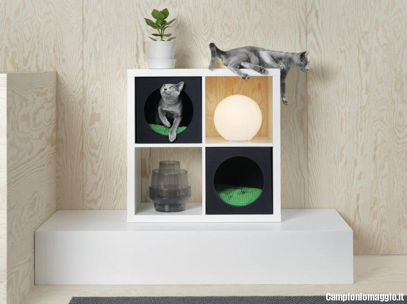 Ben noto Ikea presenta LURVIG: la collezione di mobili per animali  WR97
